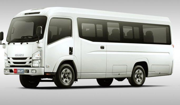 ISUZU ELF NLR 55B Microbus KCB (AC)